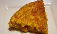 Spanische Tortilla mit Pell-Kartoffel und Paprika