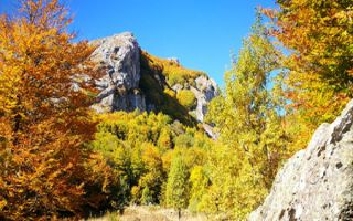 Herbstliche Wanderung entlang des Jablanica Zugs