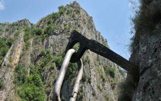 Die bekannte Matka - Schlucht bei Skopje