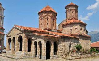 An der Grenze zu Albanien - das Kloster Sveti Naum