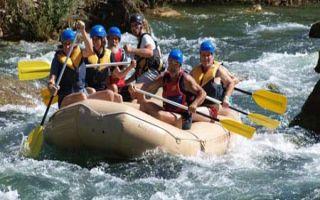 Rafting Abenteuer auf der Cetina bei Radmanove Mlinice