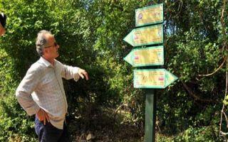 Misho Yuzmeski - Schriftsteller und Wanderführer im Galičica