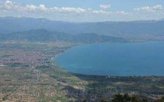 Erkundung - Paragliding am Ohridsee bei Struga