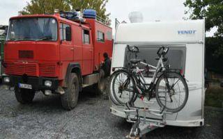 Magirus Deutz Feuerwehr-Camper bei Zampetas