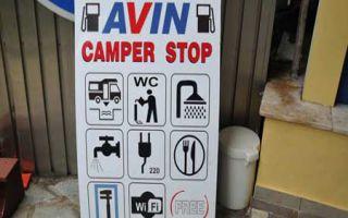 Rapsani - Camperstopp und Besuch der Weingüter