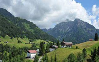 Kleinwalsertal in Vorarlberg - Bergwandern und Caravaning