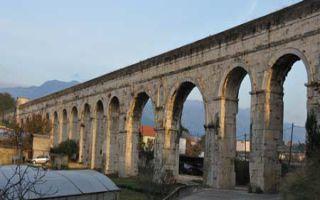 Der Diokletians Aquädukt in Split