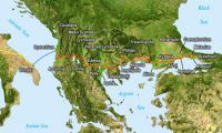 Along the Via Egnatia: from Ohrid to Elbasan in Albania