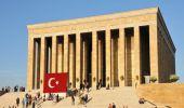 "Atatürk Mausoleum ""Anıtkabir"" am Grabhügel der Phryger"