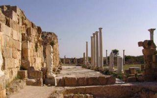 Salamis auf Zypern - antikes Stadtkönigtum bei Famagusta