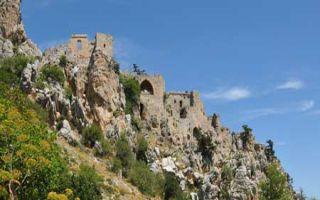 St. Hilarion - mächtige Burganlage gegen Piraten!