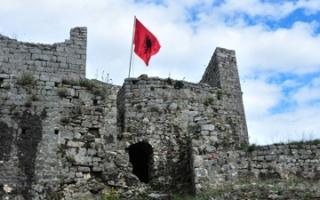 Rozafa Castle ruins - a legendary fortress at Shkodra