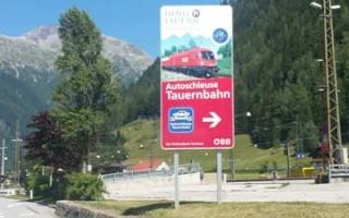 Jam free through the Alps - the Car Lock at Tauern