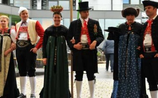 Walser costume - explanations of the tradition in Mittelberg