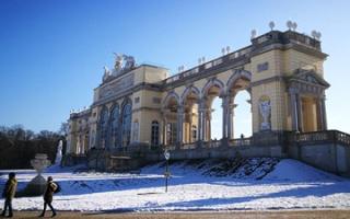The Castle Park and the Gloriette of Schönbrunn