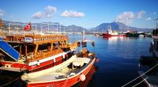 Sunny Alanya - rainy Ayvacik - then the ferry at Lapseki