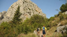 Arrival in Omiš and first exploration hike