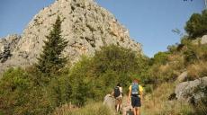 Ankunft in Omiš und erste Erkundungswanderung