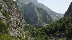 Erste Erkundungswanderung Omiš - Rückweg