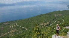 Bergwanderung Magaro im Galičica-Gebirge