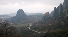 Meteora - even very cloudy it is still beautiful and mystical