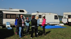 From Belgrade to the Serbian Camperclub meeting at Danube