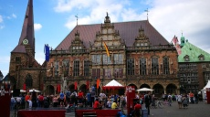 La Strada - Bremen's city center is transformed into a stage