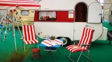 Caravan-Salon 2017 Düsseldorf - Vintage caravans enrich the fair
