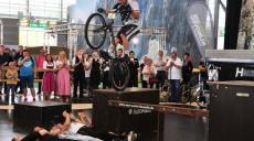 Caravan-Salon - Team World Champion MTB Hannes Hermann