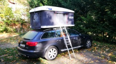 Space is even in the smallest cabin - campers can manage