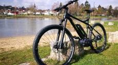 Mountainbike - Erste Erprobungstour des RR920 entlang des Main