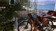 Frühling am Ohrid See - Mountainbike Tour nach Radolišta