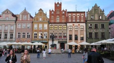 Poznan - After busy day at Fair for dinner to the Old Market