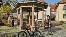 Mit den Rädern zu den Quellen von Bad Bibra