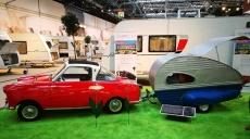 Caravans at the Exhibition Salon Düsseldorf - yesterday & today