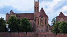 Malbork - a gothic medival residance Castle of Crusaders