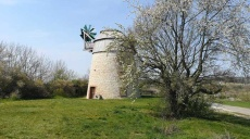 Eckartsberga - a Dutch windmill as a contemporary witness