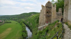Rudelsburg and Saaleck Castle - boat tour on the Saale