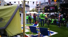 Germany Tour and Flying Grass Carpet guests in Trier