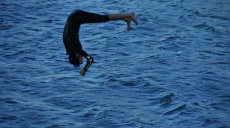 Water sports activities on the Danube Island Vienna