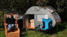 Erstes Campertreffen in Wünschendorf an der Weißen Elster