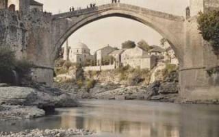 Bosnian War and Destruction of the Stari most