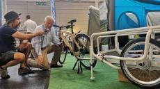 EURO Bike Friedrichshafen - BTurtle trailer now with axle motor
