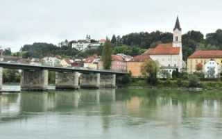 Short city trip to Passau - the town shows signs of autumn