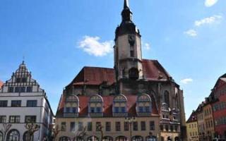 A walk through the old town of Naumburg