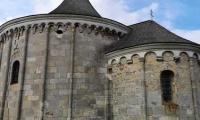Romanesque round chapel in Petronell-Carnuntum