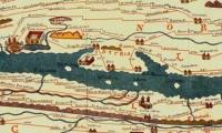 Konrad Peutinger - Tabula Peutingeriana Roman road map