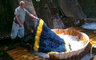 Bourazani at Pindos - A water mill for carpet washing