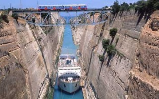 The prehistory of the Canal of Corinth