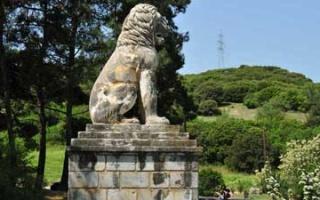 After exploring Argilos - The Lion of Amphipolis